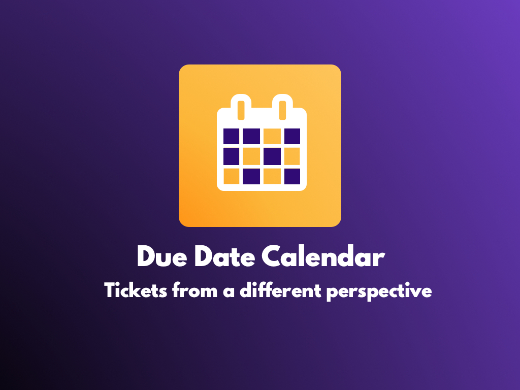Watch the Due Date Calendar app video