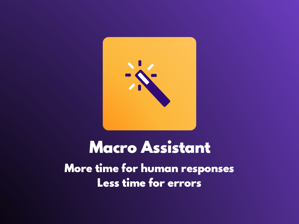 Watch the Macro Assistant app video