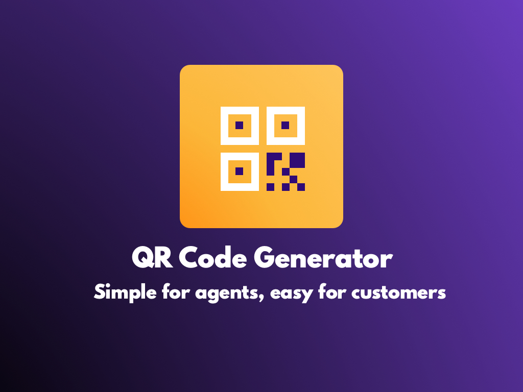 Watch the QR Code Generator app video