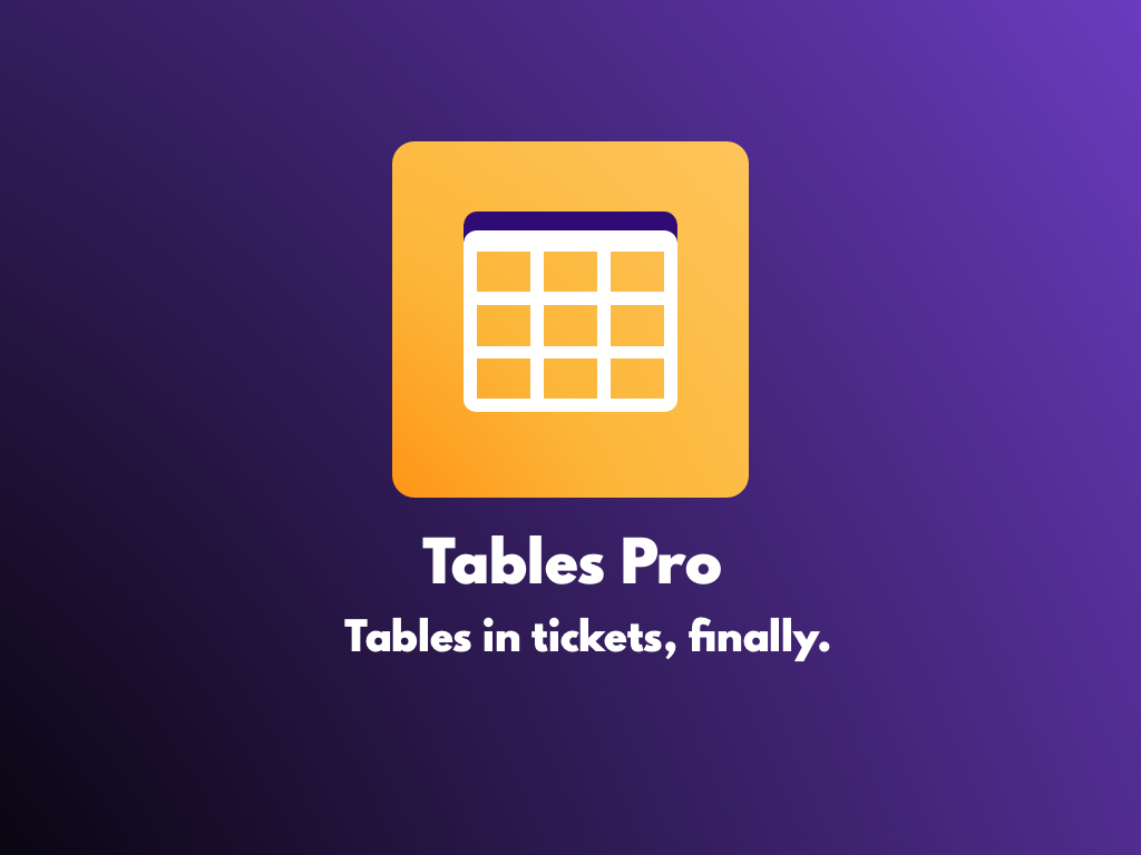 Watch the Tables Pro app video