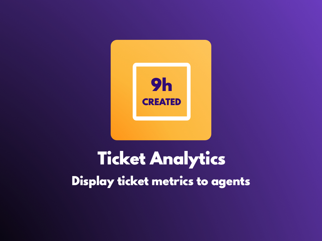 Watch the Ticket Analytics app video
